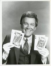 WINK MARTINDALE SMILING PORTRAIT LAS VEGAS GAMBIT ORIGINAL 1983 NBC TV PHOTO