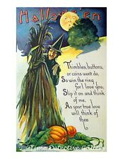 Vintage Halloween Graphic Poster #48-3 Sizes Available