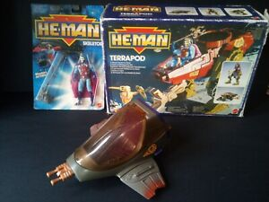 He Man New Adventures Terrapod MIB Shuttle Pod Skeletor MOC