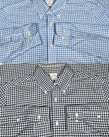 Lot 2 Brooks Brothers Regent Non Iron Shirts Men's Size M Gingham Pattern