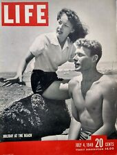 Life Magazine July 4 1949 George Orwell 1984 Midget Air Racer St Louis Race Riot
