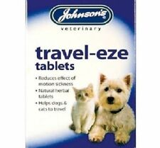 Johnsons Travel-eze Tablets for Dogs & Cats Travel sickness *SAMEDAY DISPATCH*