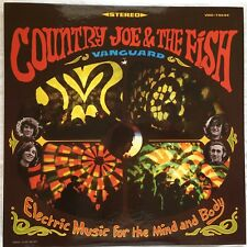 Country Joe & The Fish Electric Music for the Mind and Body Vanguard/Comet 180g
