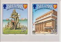 ISLE OF MAN POSTCARDS PHQ CARDS NO 2 1983 FULL SET MINT POSTAL ANNIVERSARY