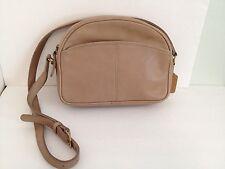 Vintage Coach Tan Leather Shoulder Bag Purse Made In USA