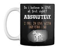 Believe In Love Pitbull Gift Coffee Mug