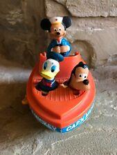 Disney  Illco  Captain Mickey Mouse Wind -Up Boat 1980s