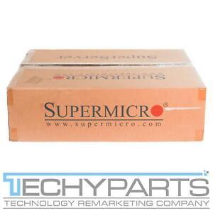 Supermicro SYS-1018R-WC0R CSE-116AC-R706WB X10SRW-F LGA2011v3 1U Server DENT!
