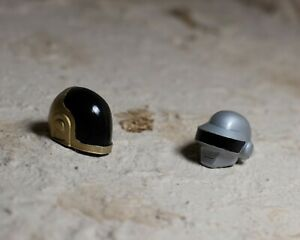 PREORDER Miniature Painted Daft Punk Helmets for 1/12 Action Figures