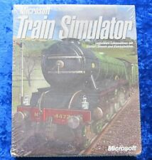 Microsoft Train Simulator, PC Spiel in original Box, Neu