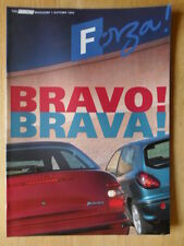Fiat Forza 1995 Uk Mkt Revista Folleto-Brava Bravo Barchetta