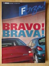 FIAT forza 1995 UK inchiostri RIVISTA BROCHURE-BRAVA BRAVO BARCHETTA