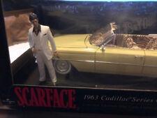 LIMITED EDITION SCARFACE 1963 CADILLAC SERIES 62 1:18 CARS JADA TOYS