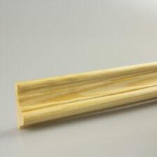 Profilleiste Zierleiste Abschlussleiste Bastelleiste Kiefernholz 1500x35x13mm