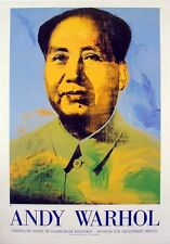 Chairman Mao, 1983 by Andy Warhol Art Print Berlin Museum 1996 Exhibition Poster