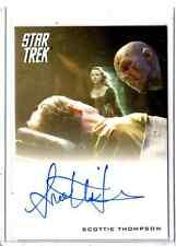 2014 Star Trek Movies Scottie Thompson auto card #2