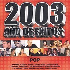 Various Artists 2003 Año De Exitos Pop CD ***NEW***