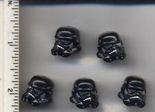 Star Wars LEGO x 5 Minifig, Headgear Helmet SW Stormtrooper, Shadow Trooper