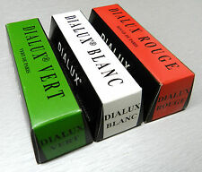 JEWELERS ROUGE POLISH GOLD SILVER JEWELRY DIALUX ROUGE GREEN WHITE & RED -3 BARS