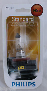 NEW PHILIPS H8 X 1 BULB 35W OEM 12360 B1 HEADLAMP LIGHT BEAM HALOGEN FOGLAMP