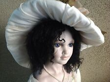 """Mohair Ethnic Wig, Or Just Really Hip!  Abigail 12-13"""" Doll Wig, Beautiful Long."""