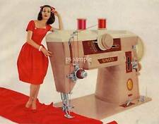 SINGER SEWING MACHINE - Vintage Ad Flexible Fridge Magnet