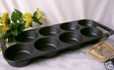 OLD MOUNTAIN CAST IRON 8 IMPRESSION BISCUIT PAN- NEW