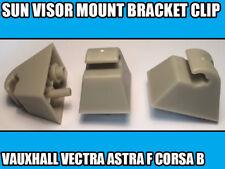 1x BRACKET CLIP FOR VAUXHALL VECTRA ASTRA F CORSA VIVARO SUN VISOR MOUNT 1438336
