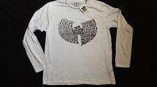 Wu-Tang Clan 20 ANNIVERSARIO rap/hip-hop maniche lunghe T shirt di grandi dimensioni