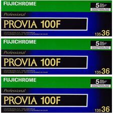 15 Rolls Fuji FujiChrome Provia RDP 100F 135-36 Color Slide Film