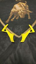 LAMBORGHINI MURCIELAGO LP640 E GEAR SHIFT PADDLES SHIFTER YELLOW OEM 410951527