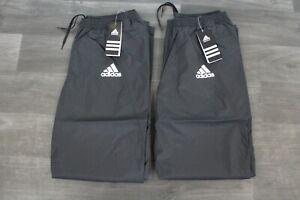 2x Adidas RIO Rain Pants Mens Golfhose Herren Regenhose Outdoor Hose Größe S 46