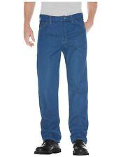 Dickies Regular Straight Fit 5-Pocket Denim Jeans STONEWASHED INDIGO 9393SNB