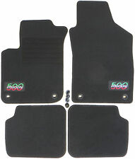 passend für Fiat 500 Autofußmatten Autoteppiche Fußmatten 2007-2013   Lsov