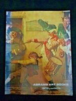 Abrams Art Books 1970 and 1971 Norman Rockwell Dufy Bruegel Chagall Rembrandt