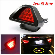 1p Universal F1 Style Car 12LED Red Rear Tail Third Brake Stop Safety Lamp Light