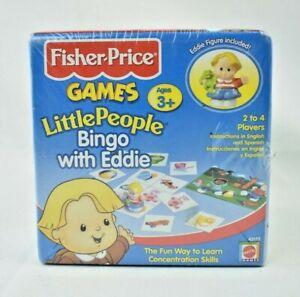 Mattel - Fisher Price Games - Little People Bingo with Eddie (Figurine Included)