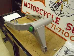 BUELL, P/N#93924YA - SWINGARM, S2/S2T, SILVER, NEW OLD STOCK.#