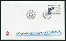 Greenland Post Official FDC 1999.11.11. Millennium - Y2k - Single Stamp