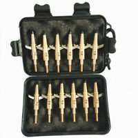 12Pcs Hunting Swhacker Broadhead 100 Grain Compound Bow Crossbow Shooting Tips