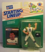1989  WADE WILSON - Starting Lineup Football Figure & Case - MINNESOTA VIKINGS