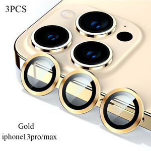 For iPhone 13/Pro/Max/Mini Tempered Glass Camera Lens Screen Protector Accessory