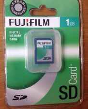 FUJIFILM MEMORY CARD 1GB FULL SIZE SD CARD BRAND NEW