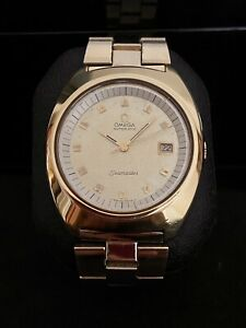 1970 Omega Automatic Seamaster Watch Gold Plated