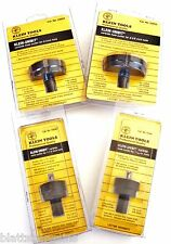 4pc KLEIN TOOLS CARBIDE HOLE SAW STEEL CUTTER SET USA UNI BIT DRILL ONE TOOTH