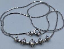 Italienisches 925 Silber Collier