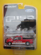 GREENLIGHT-FIRE & RESCUE SPECIAL SERVICE VEHICLE *2015 FORD F-150* PICKUP NEW!