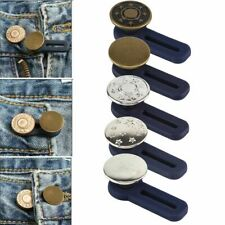5 Pcs Adjustable Jeans Retractable Button Detachable Extended Button For Pants
