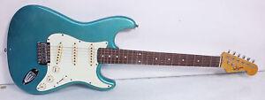 Vintage Jim Deacon Lake Placid Blue STRAT Stratocaster Electric Guitar