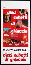 CINEMA-locandina DIECI CUBETTI DI GHIACCIO balin,wynn,moore,rey,GLASSER
